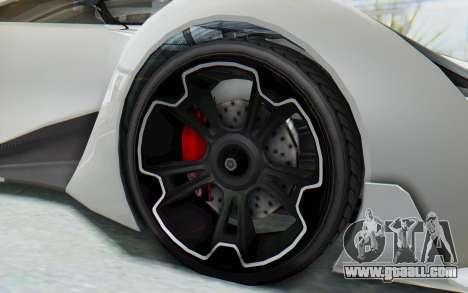 GTA 5 Grotti Prototipo v2 for GTA San Andreas back view