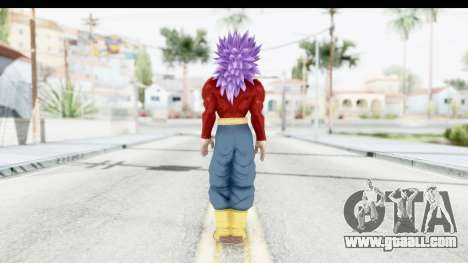 Dragon Ball Xenoverse Future Trunks SSJ4 for GTA San Andreas third screenshot