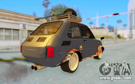Fiat 126 for GTA San Andreas back left view