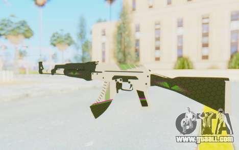 CS:GO - AK-47 Sport for GTA San Andreas second screenshot