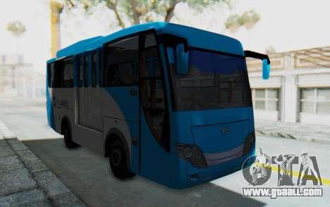 Hino Evo-C Transjakarta Feeder Bus for GTA San Andreas right view
