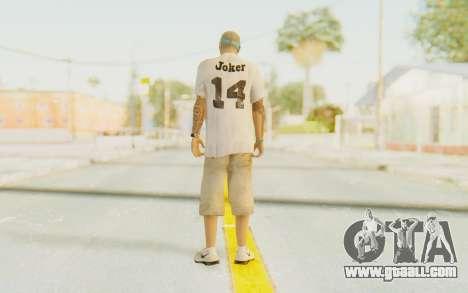 The Joker Skin for GTA San Andreas third screenshot
