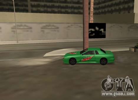 New vinyls for Elegy for GTA San Andreas right view