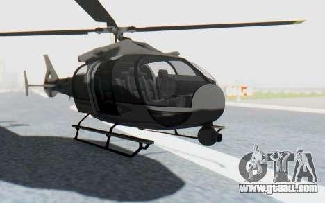 GTA 5 Maibatsu Frogger Civilian IVF for GTA San Andreas