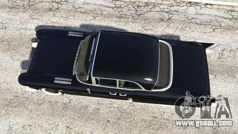 GTA 5 Cadillac Eldorado Brougham 1957 v1.1 back view