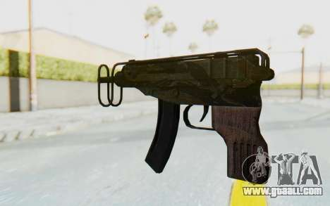 VZ-61 Skorpion Fold Stock Tiger Stripes Camo for GTA San Andreas second screenshot