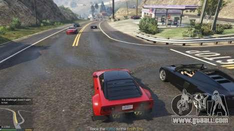 Impromptu Races 1.8 for GTA 5