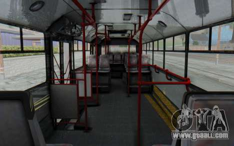 Pylife Bus for GTA San Andreas inner view