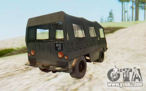 Pinzgauer 710M for GTA San Andreas left view