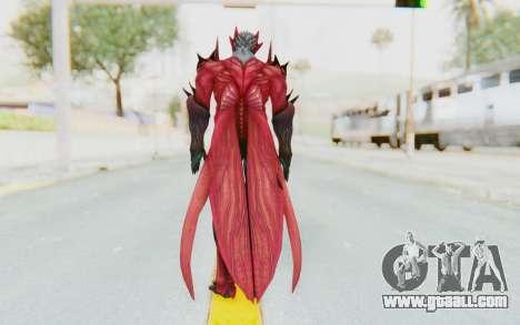 Devil May Cry 4 - Dante Demon for GTA San Andreas third screenshot