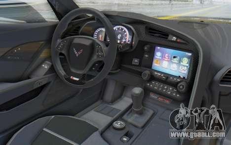 Chevrolet Corvette C7.R Z06 2015 for GTA San Andreas right view