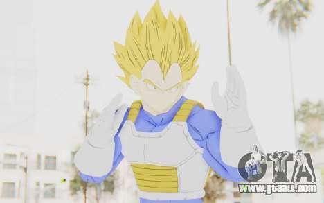 Dragon Ball Xenoverse Vegeta Android Saga SSJ for GTA San Andreas