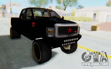 Ford Super Duty Off-Road for GTA San Andreas right view