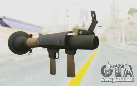 Rocket Launcher from TF2 for GTA San Andreas