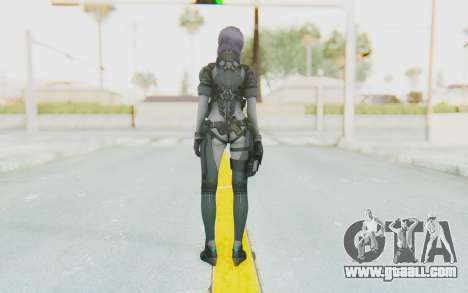 Ghost In The Shell First Assautl Motoko v1 for GTA San Andreas third screenshot