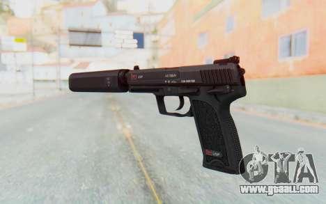 H&K 45 Silenced for GTA San Andreas third screenshot