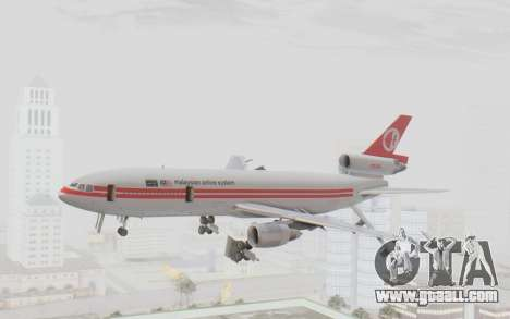 DC-10-30 Malaysia Airlines (Retro Livery) for GTA San Andreas