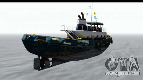GTA 5 Buckingham Tug Boat v1 IVF for GTA San Andreas left view