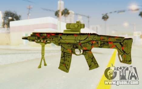 ACR CQB Magma for GTA San Andreas second screenshot