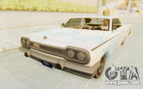 GTA 5 Declasse Voodoo Alternative v1 for GTA San Andreas engine