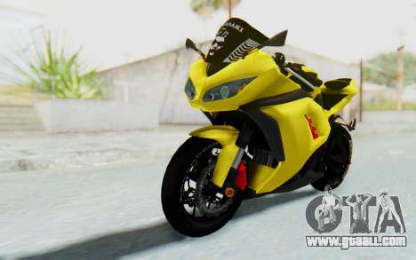 Kawasaki Ninja 250 Abs Streetrace v2 for GTA San Andreas