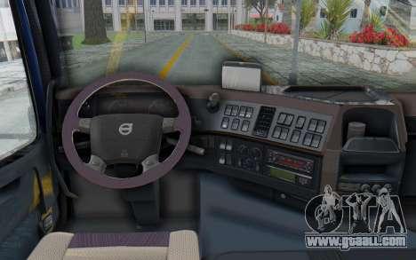 Volvo FMX 6x4 Dumper v1.0 Color for GTA San Andreas back view