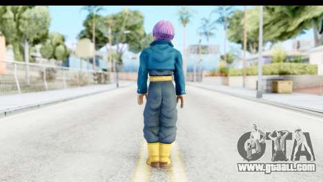 Dragon Ball Xenoverse Future Trunks SJ for GTA San Andreas third screenshot