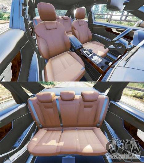 GTA 5 Audi A4 2017 steering wheel