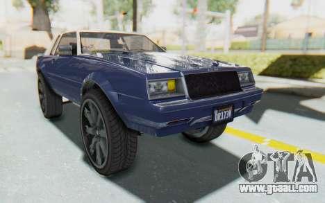 GTA 5 Willard Faction Custom Donk v1 for GTA San Andreas