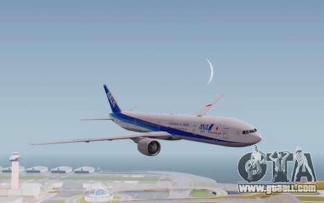 Boeing 777-300ER ZK-OKO - Smaug Livery for GTA San Andreas