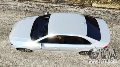 GTA 5 Audi A4 2017 v1.1 back view