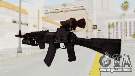 AK-74M v3 for GTA San Andreas second screenshot