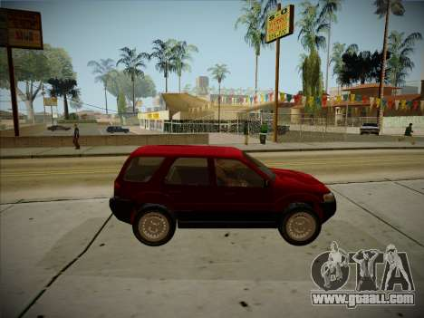 Ford Escape 2005 for GTA San Andreas back view