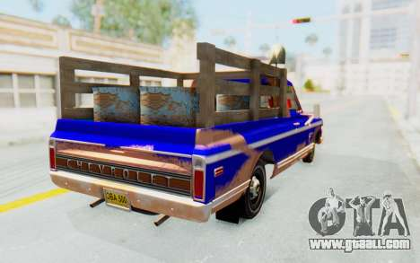 Chevrolet C10 1970 for GTA San Andreas back left view