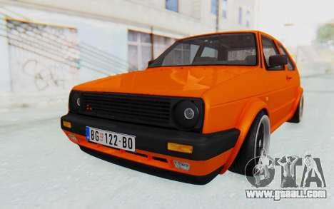 Volkswagen Golf 2 GTI 1.6V for GTA San Andreas