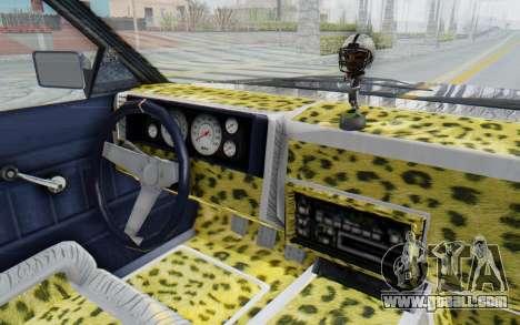 GTA 5 Willard Faction Custom Donk v1 for GTA San Andreas inner view