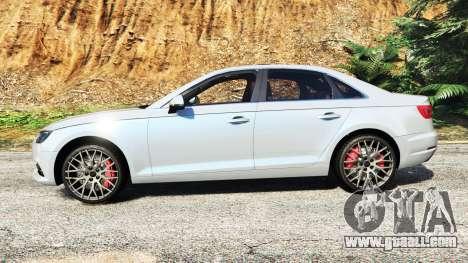 GTA 5 Audi A4 2017 v1.1 left side view