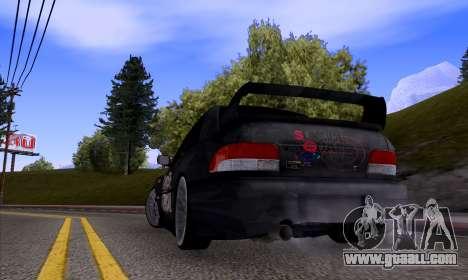 Subaru impreza 22B (SUICIDE SQUAD) for GTA San Andreas right view