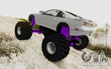 Nissan 300ZX Monster Truck for GTA San Andreas left view