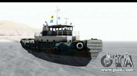 GTA 5 Buckingham Tug Boat v1 IVF for GTA San Andreas