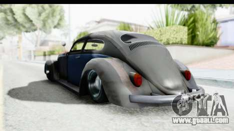 Volkswagen Beetle 1963 Hotrod for GTA San Andreas right view