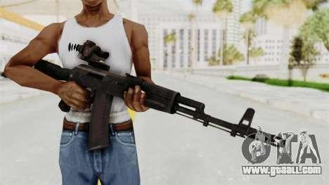 AK-74M v4 for GTA San Andreas third screenshot