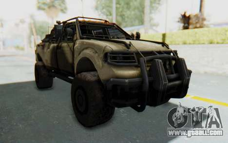 Toyota Hilux Technical Desert for GTA San Andreas right view