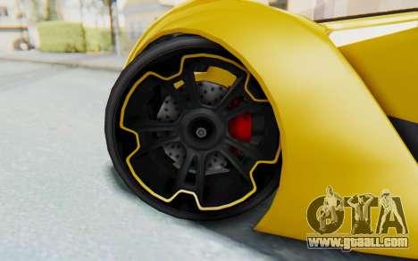 GTA 5 Grotti Prototipo v2 IVF for GTA San Andreas inner view