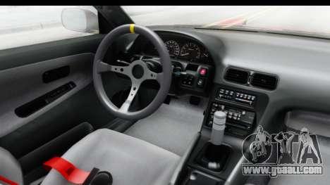 Nissan 240SX 1989 v1 for GTA San Andreas inner view