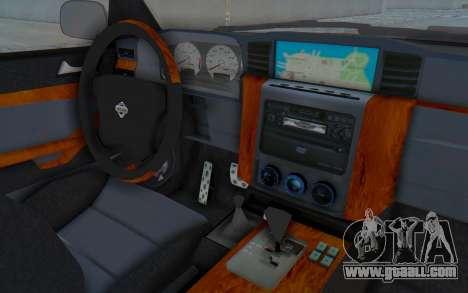 Nissan Patrol Y61 Off Road for GTA San Andreas inner view