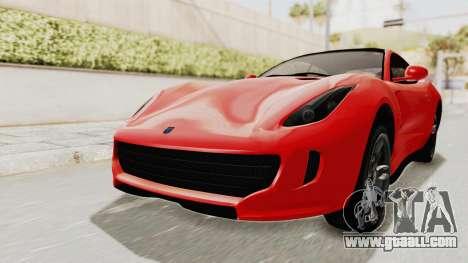 GTA 5 Grotti Bestia GTS v2 IVF for GTA San Andreas