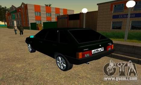 2109 v1.0 for GTA San Andreas right view