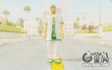 Def Jam Fight For New York - Sean Paul v2 for GTA San Andreas second screenshot