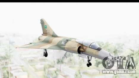 Dassault Mirage 4000 Royal Saudi Air Force for GTA San Andreas